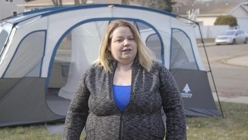 Tente Woods Klondike, 10 personnes-le témoignage de Laura - image 8 from the video
