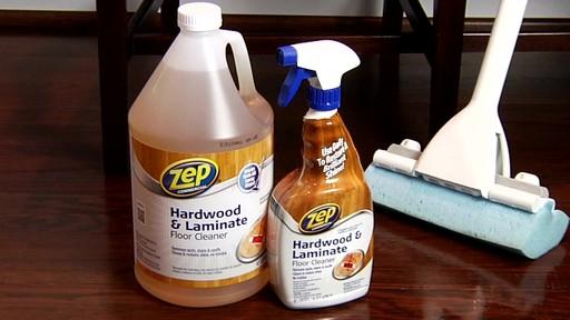 Nettoyant pour planchers en bois dur et laminé ZEP Commercial - image 10 from the video