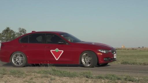 Rouler sur les pneus d'hiver en été  - image 3 from the video