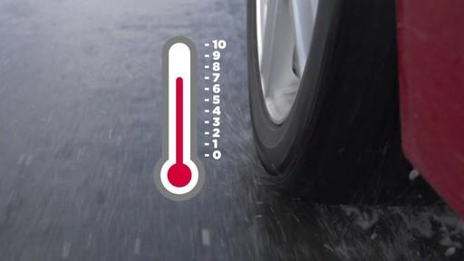 Rouler sur les pneus d'hiver en été  - image 4 from the video