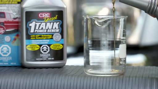 Nettoyant CRC 1-Tank Power Renew pour diesel - image 4 from the video