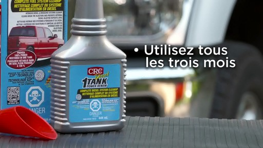 Nettoyant CRC 1-Tank Power Renew pour diesel - image 7 from the video