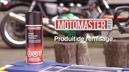 Produit MotoMaster pour entreposage de moteur - image 1 from the video