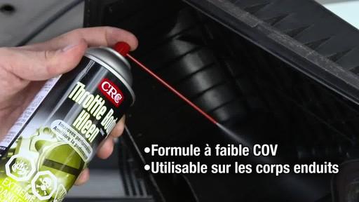 Nettoyeur de papillon des gaz CRC - image 5 from the video