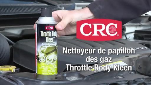 Nettoyeur de papillon des gaz CRC - image 9 from the video