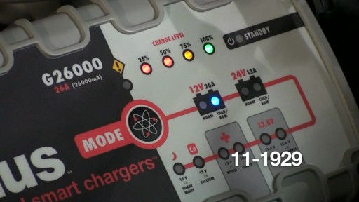 Chargeur intelligent Noco Genius G26000 - image 5 from the video