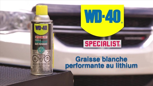 Graisse au lithium blanche WD-40 Specialist - image 1 from the video