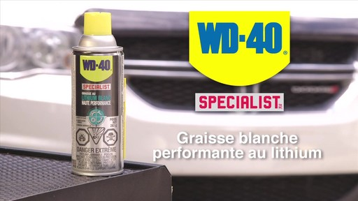 Graisse au lithium blanche WD-40 Specialist - image 10 from the video