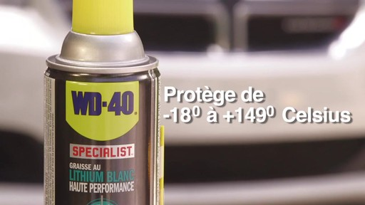 Graisse au lithium blanche WD-40 Specialist - image 8 from the video