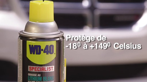 Graisse au lithium blanche WD-40 Specialist - image 9 from the video