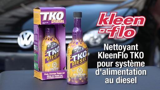 Nettoyant Kleen-Flo TKO pour système d'alimentation au diesel - image 1 from the video
