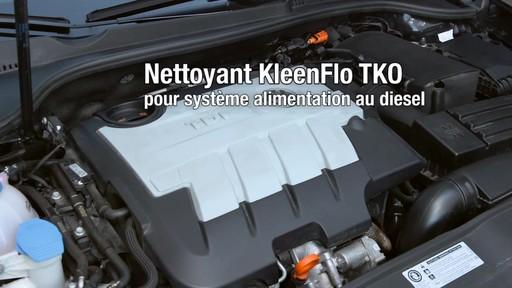 Nettoyant Kleen-Flo TKO pour système d'alimentation au diesel - image 5 from the video
