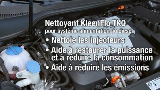 Nettoyant Kleen-Flo TKO pour système d'alimentation au diesel - image 6 from the video