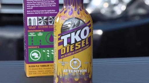 Nettoyant Kleen-Flo TKO pour système d'alimentation au diesel - image 7 from the video