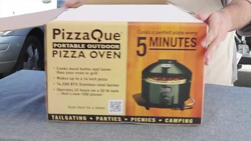 Four à pizza PizzaQue- Vue d'ensemble - image 6 from the video