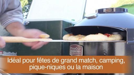 Four à pizza PizzaQue- Vue d'ensemble - image 9 from the video
