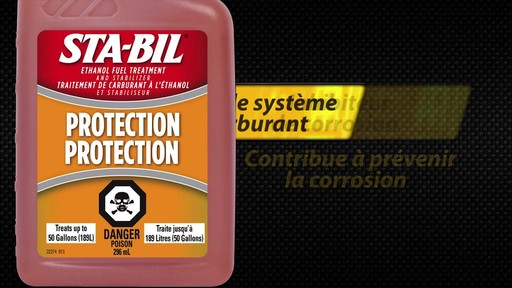 Additif pour éthanol-carburant Sta-Bil - image 8 from the video