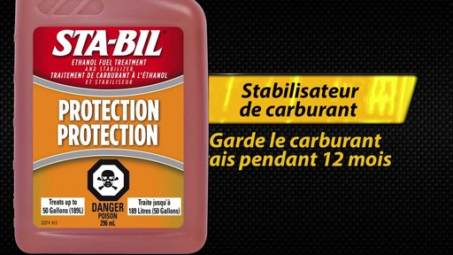 Additif pour éthanol-carburant Sta-Bil - image 9 from the video