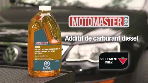 Additif de carburant avec antigel MotoMaster - image 10 from the video