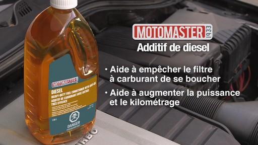 Additif de carburant avec antigel MotoMaster - image 8 from the video