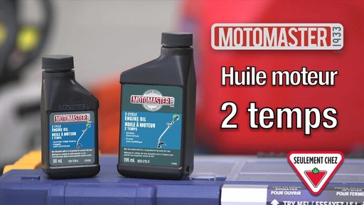 Huile 2 temps MotoMaster - image 10 from the video