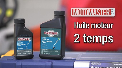Huile 2 temps MotoMaster - image 9 from the video