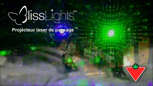 Piquet lumineux à laser Bliss - image 1 from the video