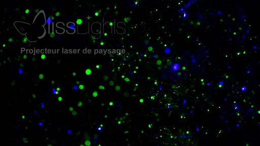 Piquet lumineux à laser Bliss - image 8 from the video