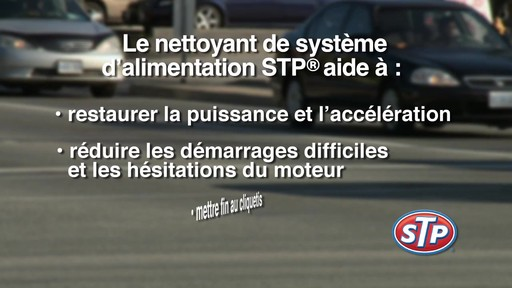 Nettoyant de système d'alimentation STP - image 8 from the video