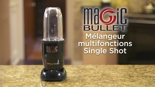 Mélangeur Magic Bullet Single Shot - image 1 from the video