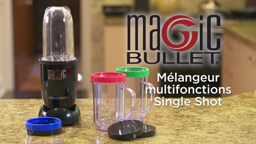 Mélangeur Magic Bullet Single Shot - image 10 from the video