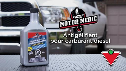 L'antigélifiant pour carburant diesel avec conditionneur Motor Medic - image 1 from the video