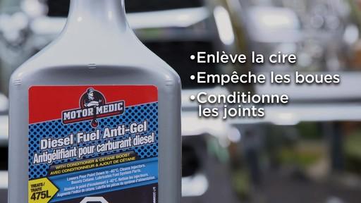L'antigélifiant pour carburant diesel avec conditionneur Motor Medic - image 8 from the video