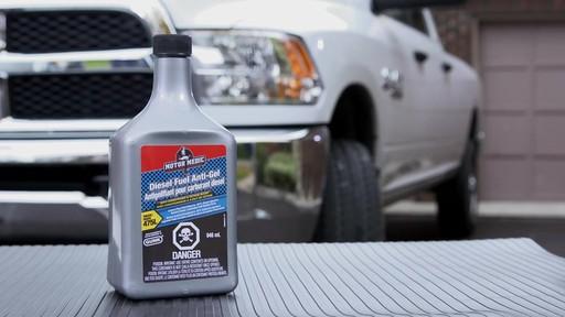 L'antigélifiant pour carburant diesel avec conditionneur Motor Medic - image 9 from the video
