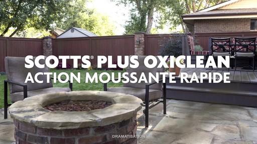 Nettoyant concentré pour l'extérieur Scotts Oxi - image 6 from the video