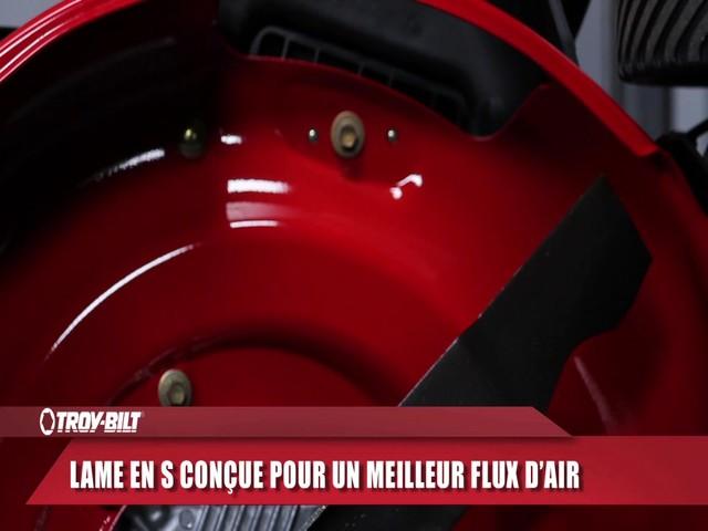 Tondeuse à démarrage électrique Troy-Bilt  - image 6 from the video