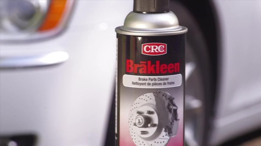 Nettoyant pour freins Brakleen CRC, sans chlore - image 9 from the video