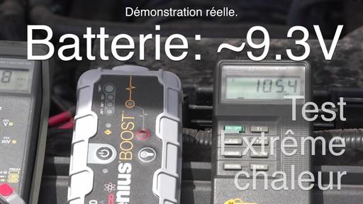 Températures extrêmes: Démarreur de batterie NOCO Genius Boost - image 7 from the video