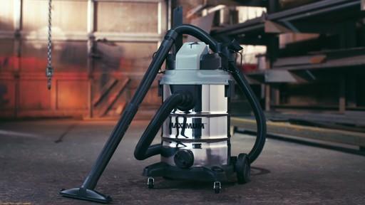 Aspirateur de déchets secs et humides MAXIMUM, inox, 30 L - image 1 from the video
