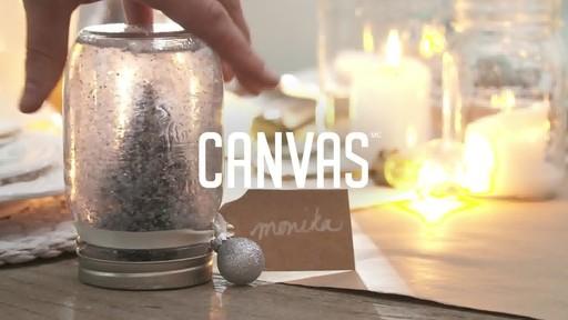 Comment faire une boule à neige avec un pot Mason  - image 1 from the video