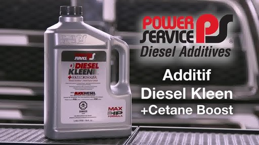 Additif Diesel Kleen avec remonteur de cétane - image 1 from the video