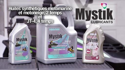 Les huiles Mystik 2 temps, motomarine et motoneige, et JT-4 4 temps - image 10 from the video