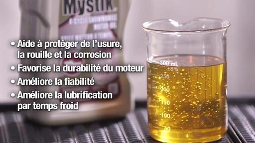 Les huiles Mystik 2 temps, motomarine et motoneige, et JT-4 4 temps - image 4 from the video