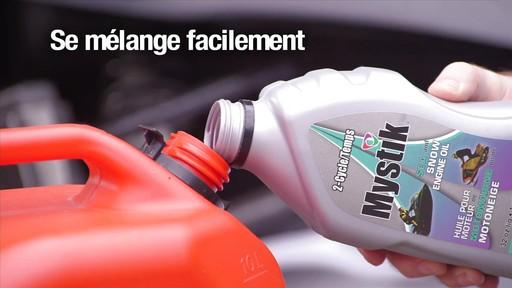 Les huiles Mystik 2 temps, motomarine et motoneige, et JT-4 4 temps - image 7 from the video