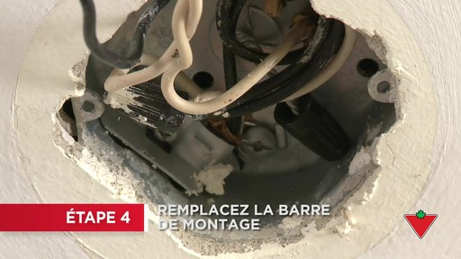 Comment installer un luminaire - image 4 from the video