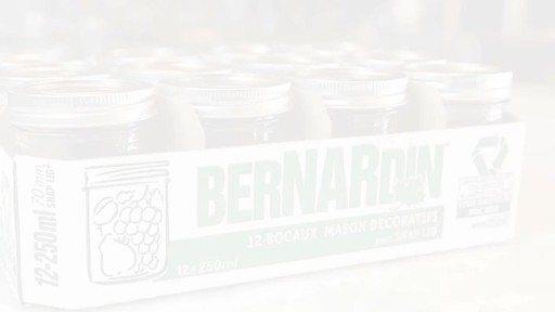 Bernardin bocaux mason décorative 250 ml - image 1 from the video
