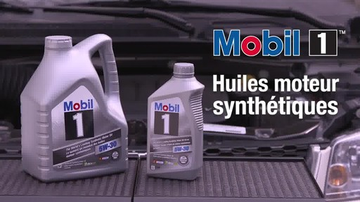 Huile moteur synthétique Mobil 1 - image 1 from the video