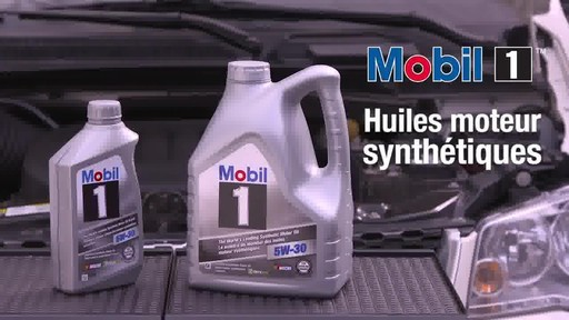 Huile moteur synthétique Mobil 1 - image 10 from the video
