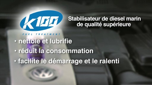 Stabilisateur diesel marin K100 - image 6 from the video