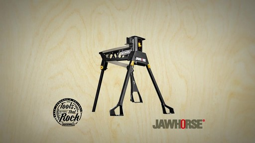 Étau Rockwell Jawhorse, 37 po - image 10 from the video